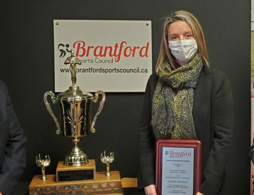 Brantford Sports Council 2020 Sportsperson of the Year Award Winner
